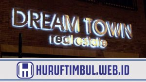 JASA TUKANG LETTER BOX SIGN STAINLESS STEEL - HURUF TIMBUL WEB ID
