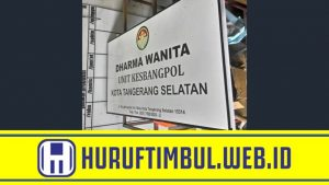 jasa tukang bikin plang papan nama reklame instansi pemerintah tangerang